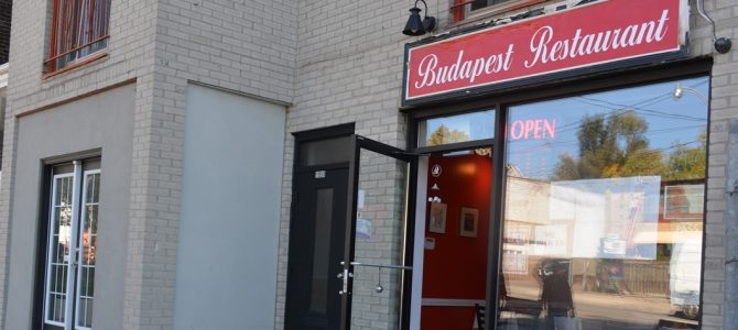 Budapest Restaurant Sample Free Take Out Menu