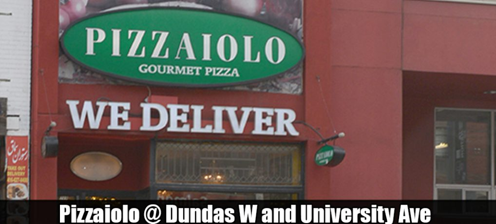 Pizzaiolo Dundas West at University Ave Toronto